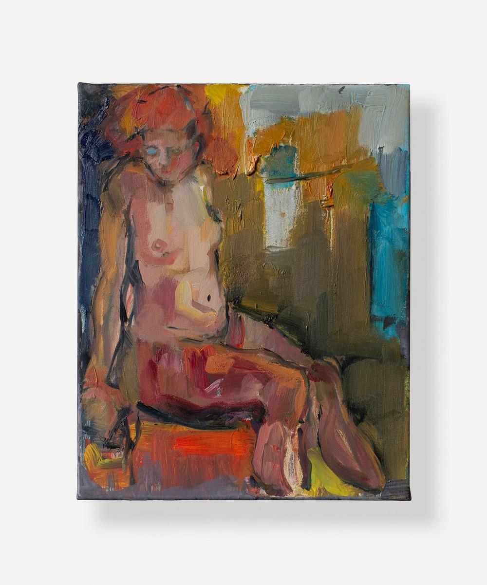 Brenda Sakoui - Evelyn Original Oil Painting