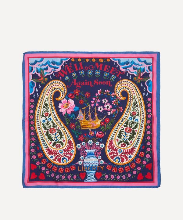 Liberty - We'll Meet Again Soon 45 x 45cm Silk Twill Scarf