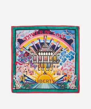 Power of Love & Liberty 45 x 45cm Silk Twill Scarf
