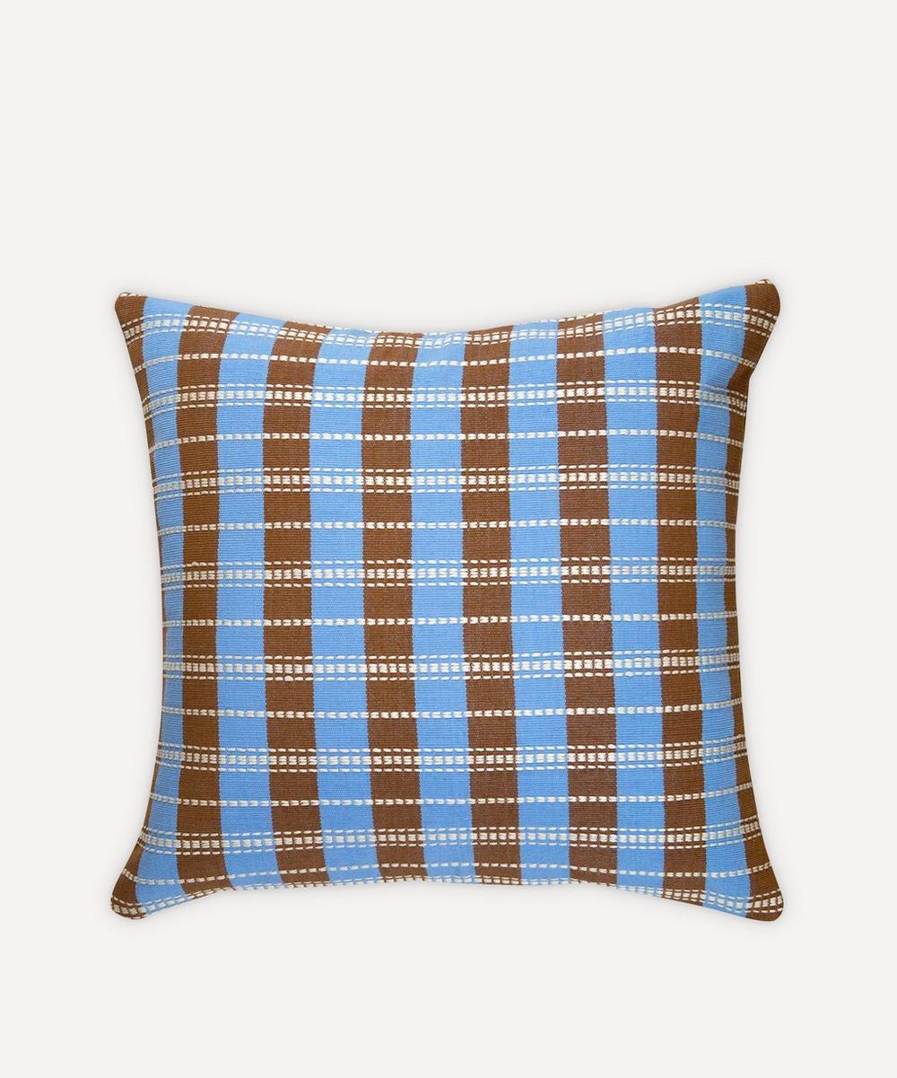 Archive New York - Santiago Grid Pillow