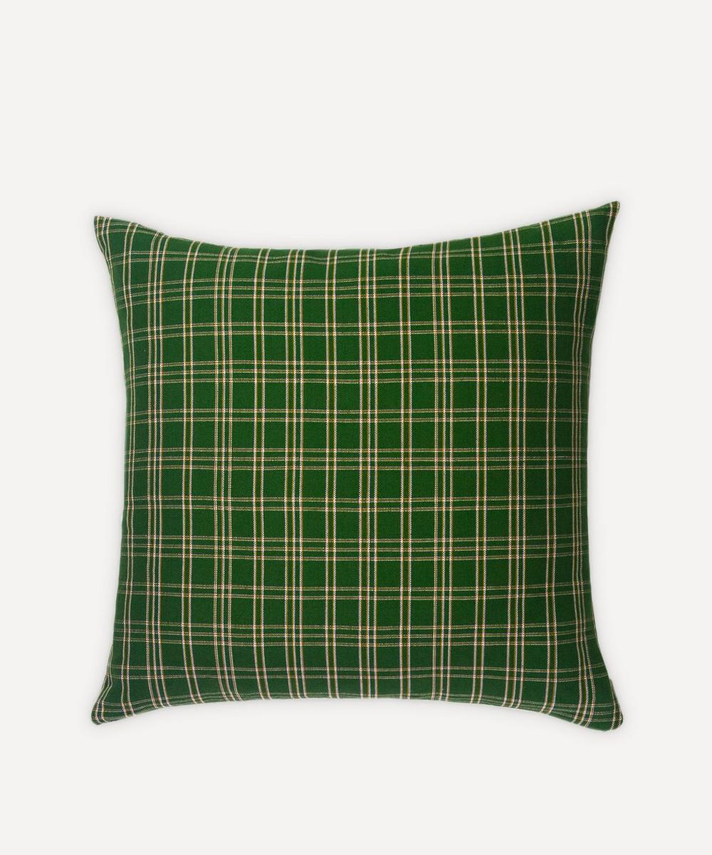 Archive New York - Chiapas Plaid Pillow