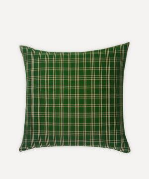Chiapas Plaid Pillow