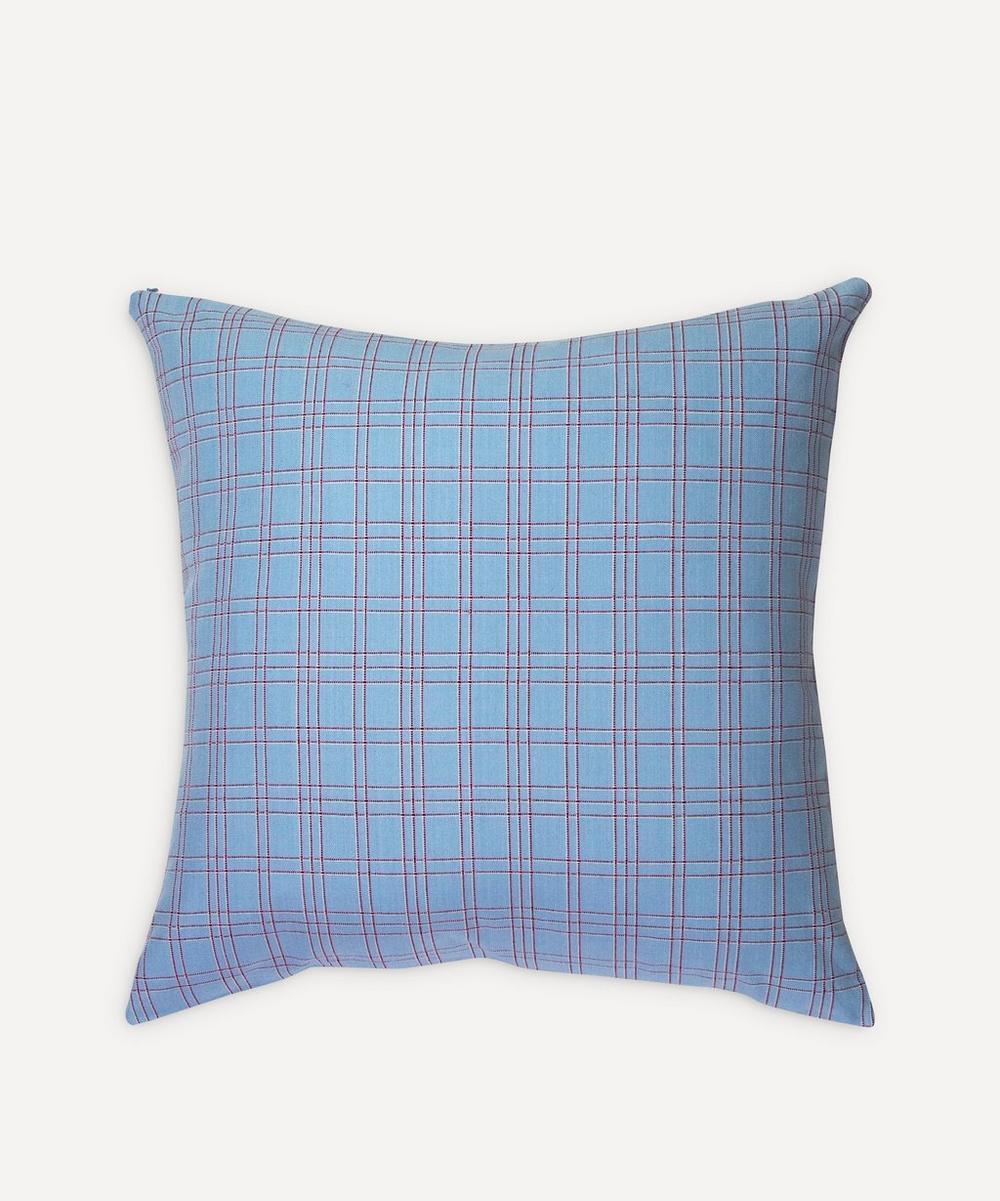 Archive New York - Chiapas Plaid Pillow