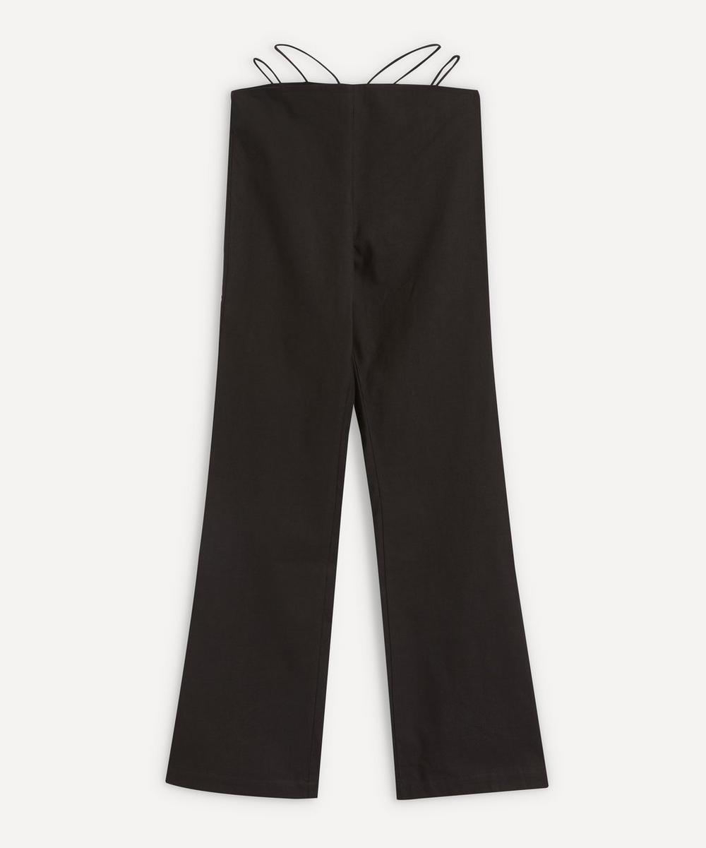Paloma Wool - Amber Elastic-Strap Linen-Mix Trousers