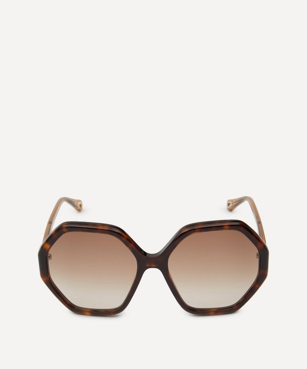 Chloé - Esther Octagonal Sunglasses