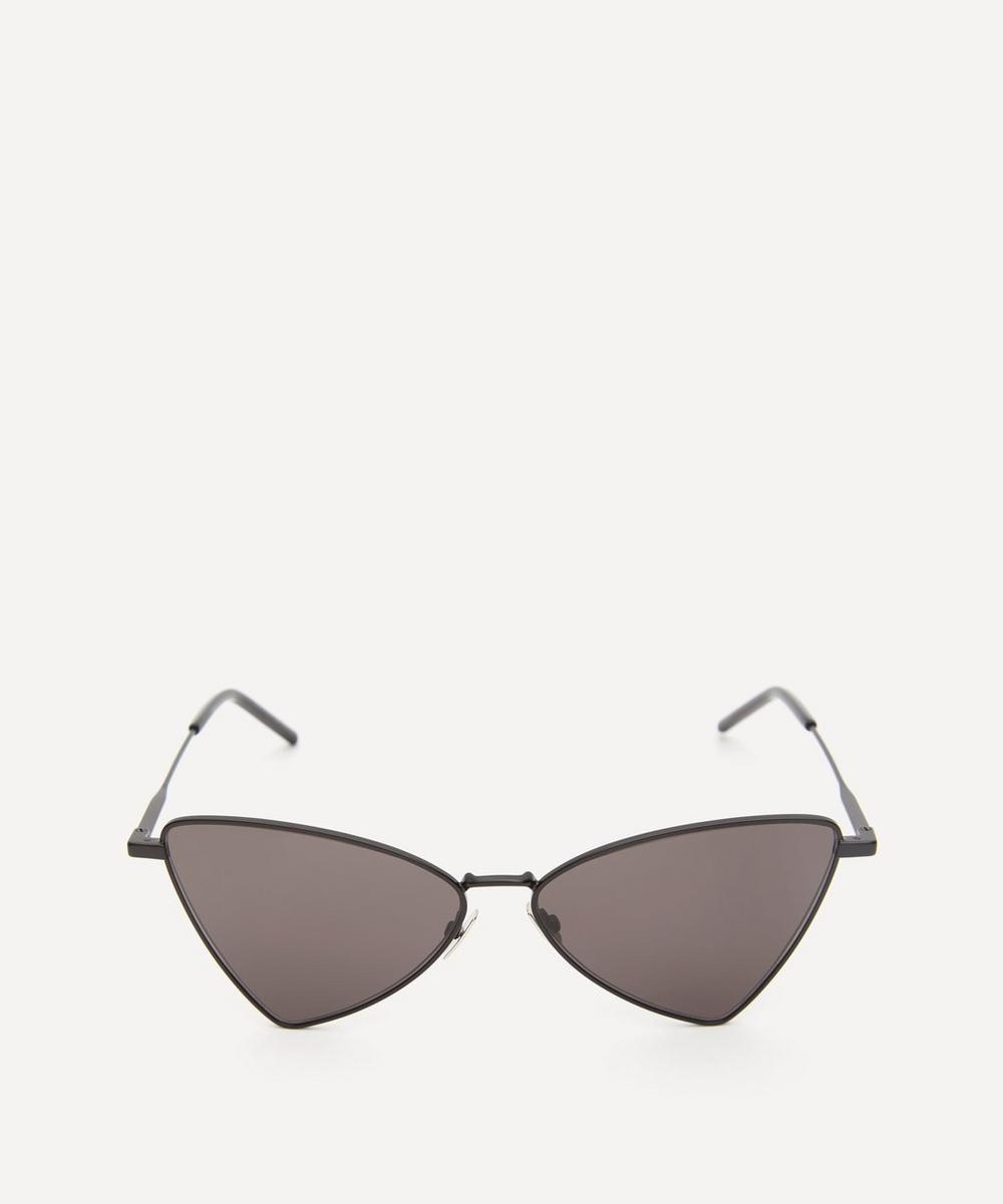 Saint Laurent - Jerry Triangular Metal Sunglasses