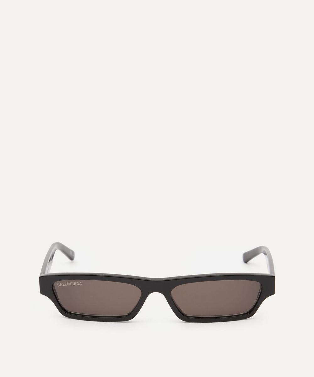 Balenciaga - Slim Rectangular Sunglasses