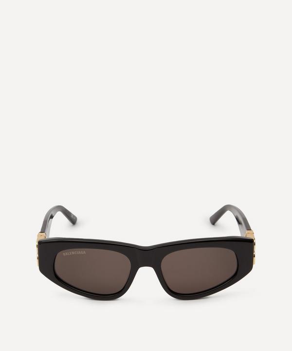 Balenciaga - Oval BB Logo Sunglasses