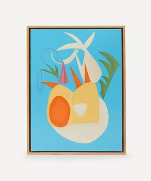 Bask Original Framed Artwork