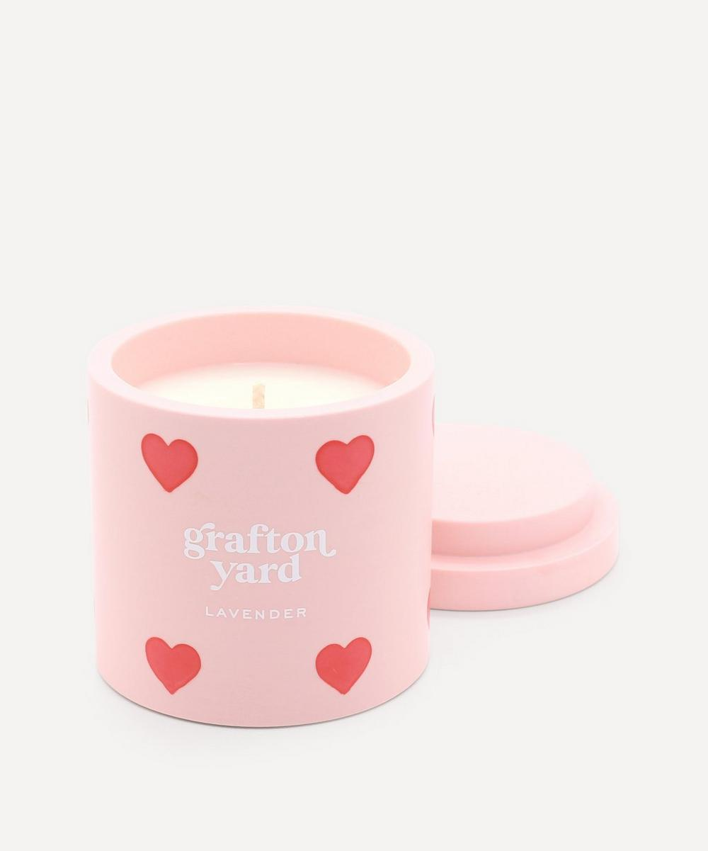 Grafton Yard - Heart Lavender Scented Candle 160g