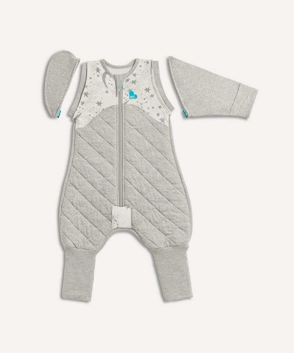 Love To Dream - Love to Swaddle UP 50/50 Transition Bag 2.5 Tog Moon and Stars Large