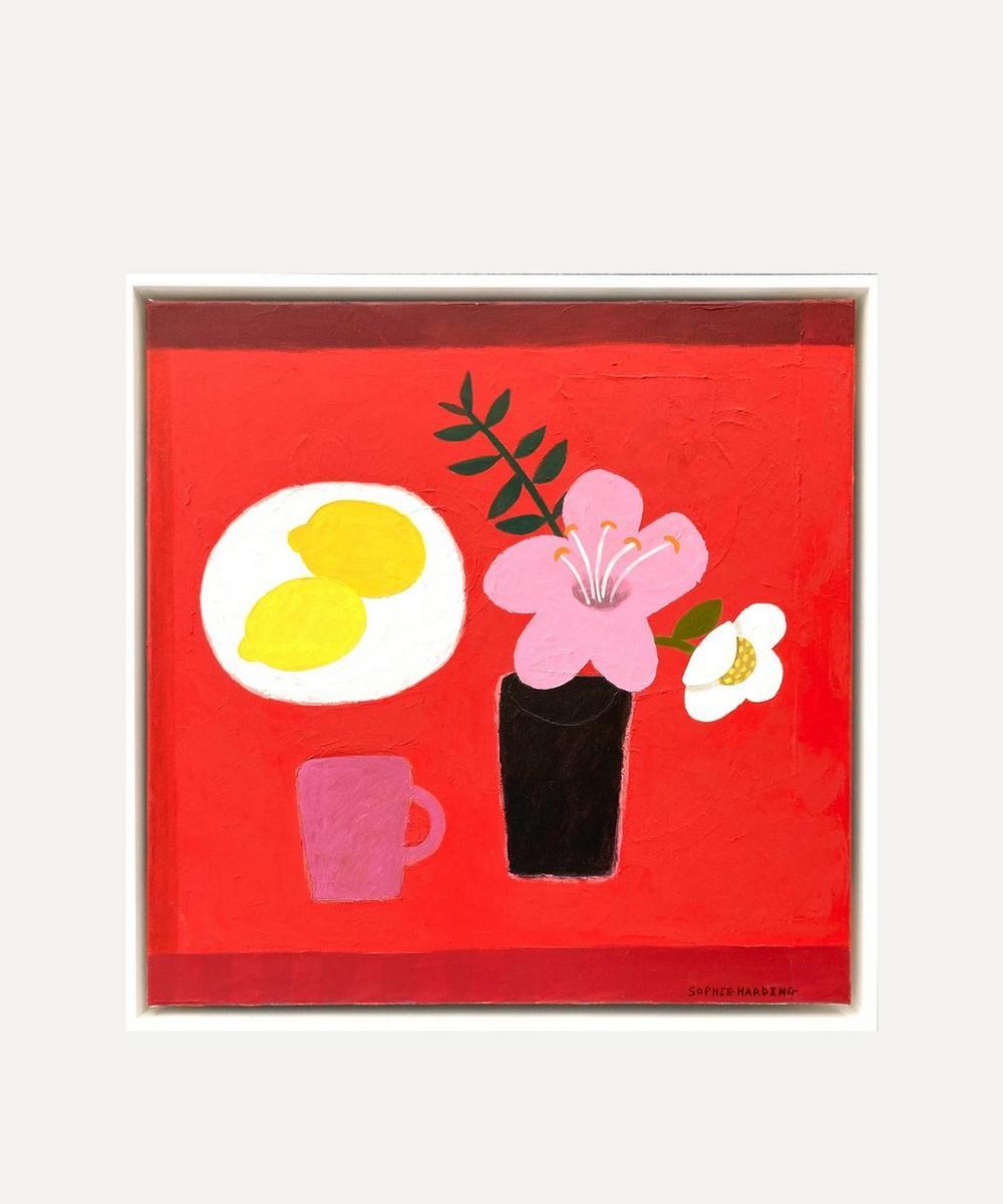 Sophie Harding - Mary's Flowers Original Framed Painting