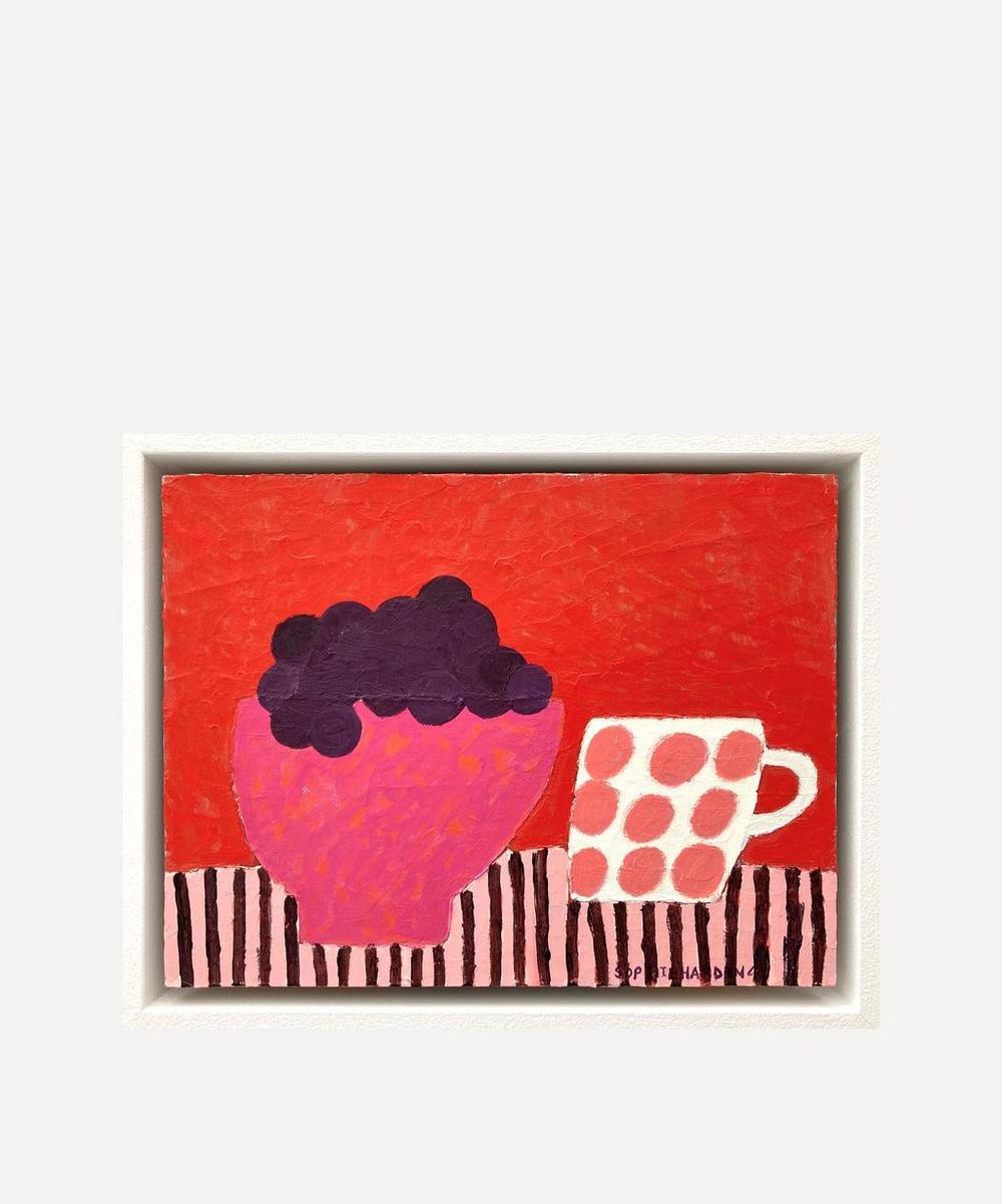 Sophie Harding - Grapes No.6 Original Framed Painting