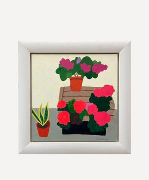 Flowers at the Florist Original Framed Painting