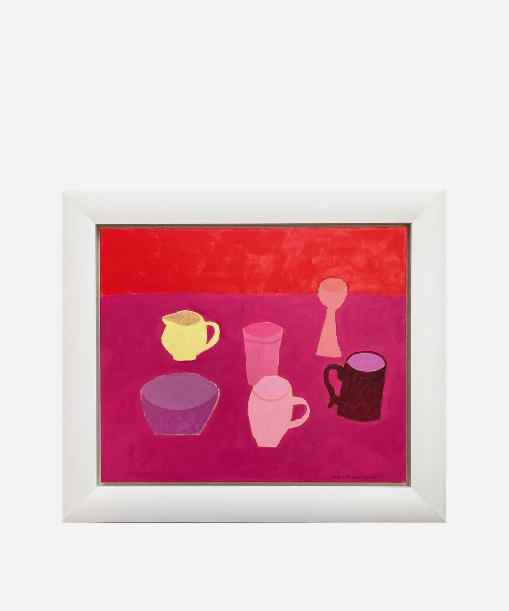 Sophie Harding - Yellow Jug Original Framed Painting