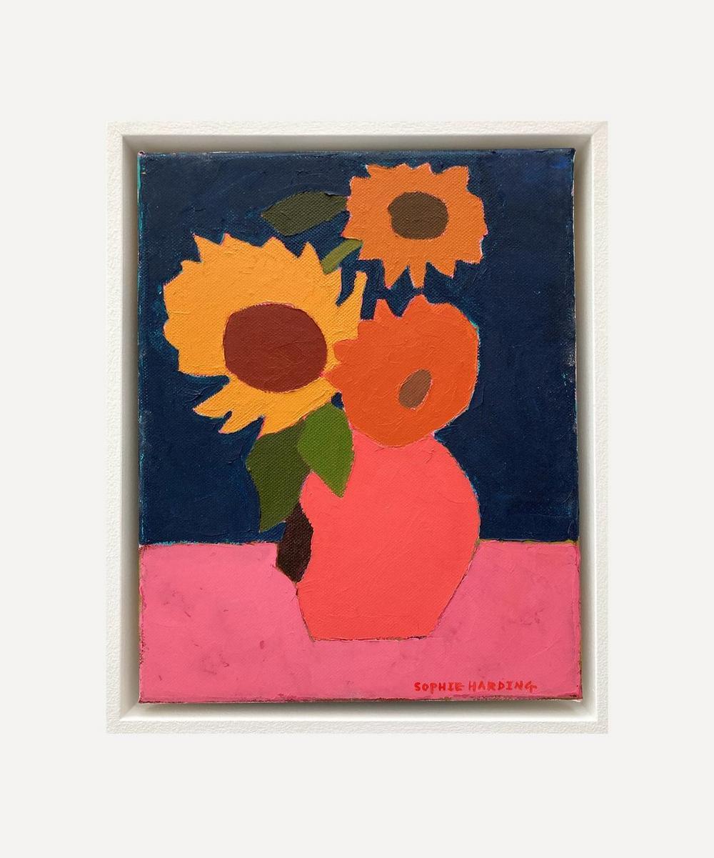 Sophie Harding - Vincent's Sunflowers Original Framed Painting