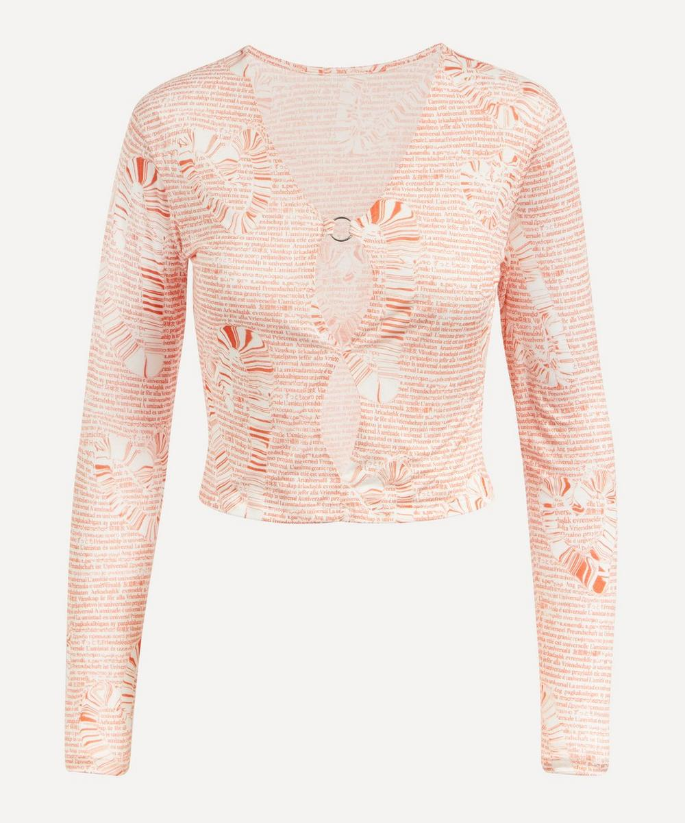 Paloma Wool - Forever Cut-Out Crop Top
