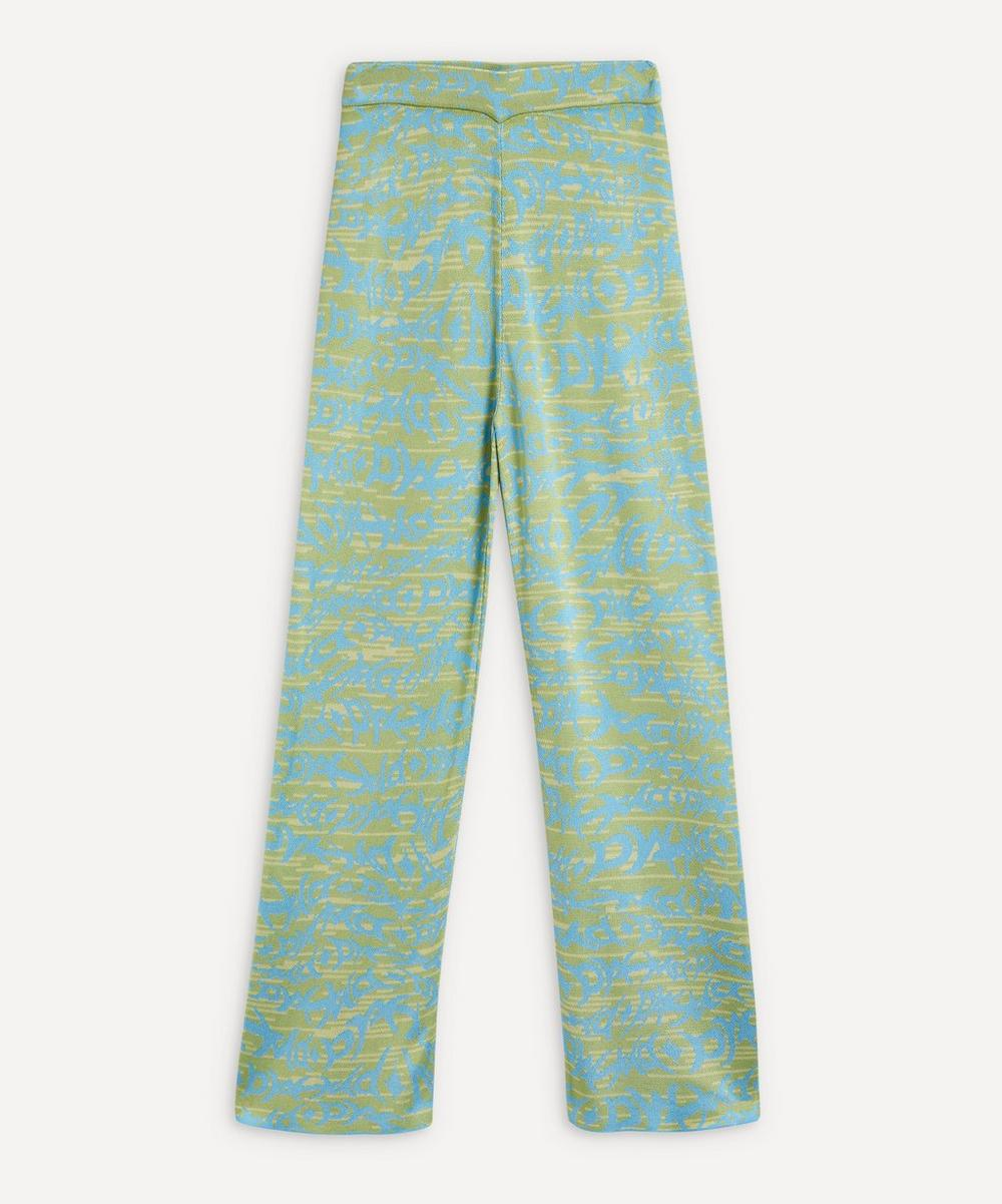 Paloma Wool - Paige Knit Jacquard Trousers