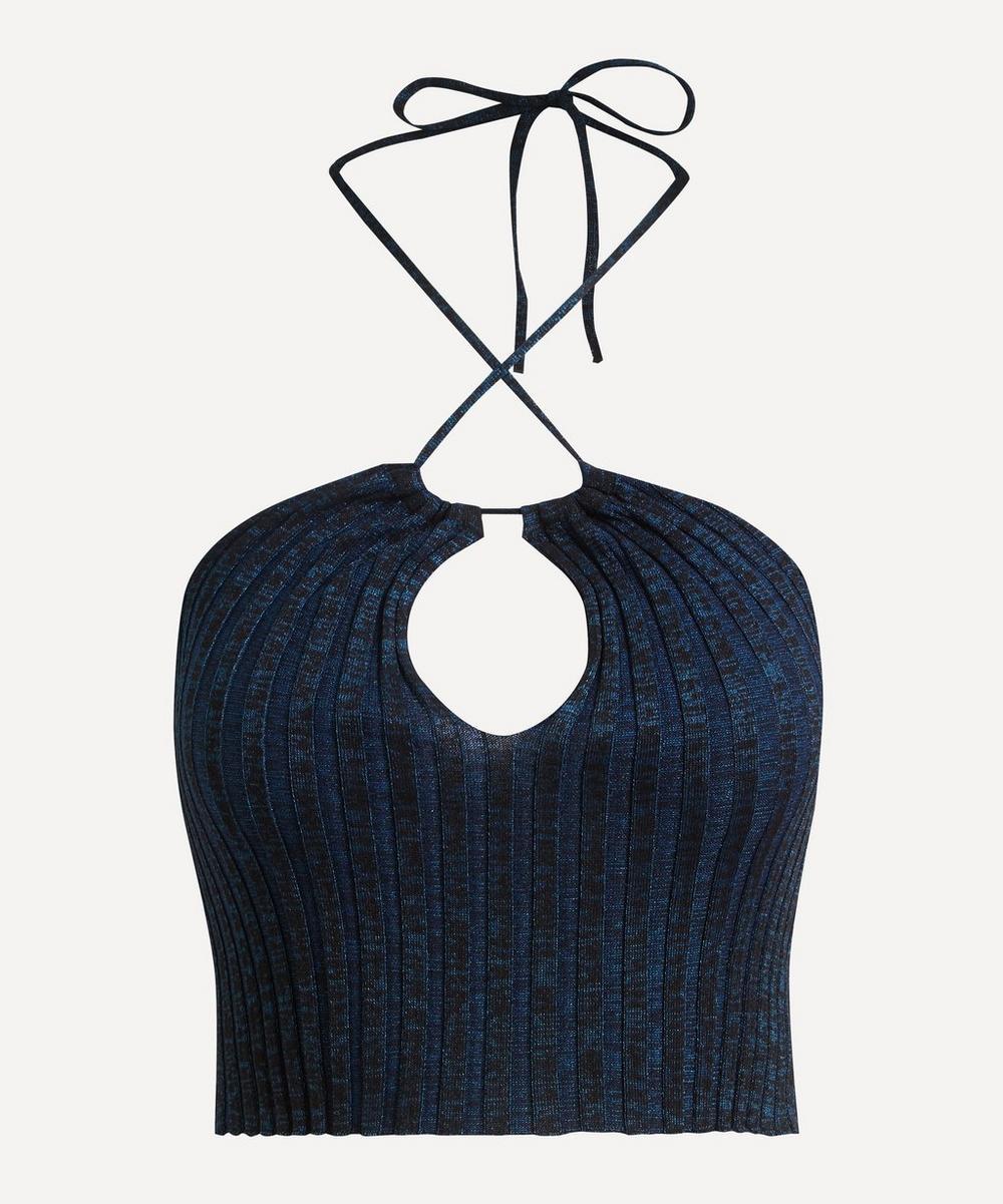 Paloma Wool - Ribbed Wool-Blend Halter-Top
