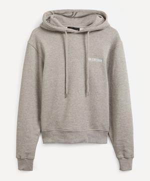 Bulky Logo Hooded Sweatshirt
