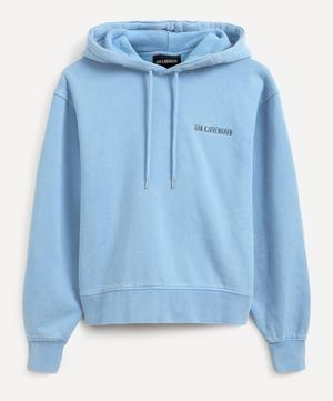 Bulky Logo Hooded Sweatshirt