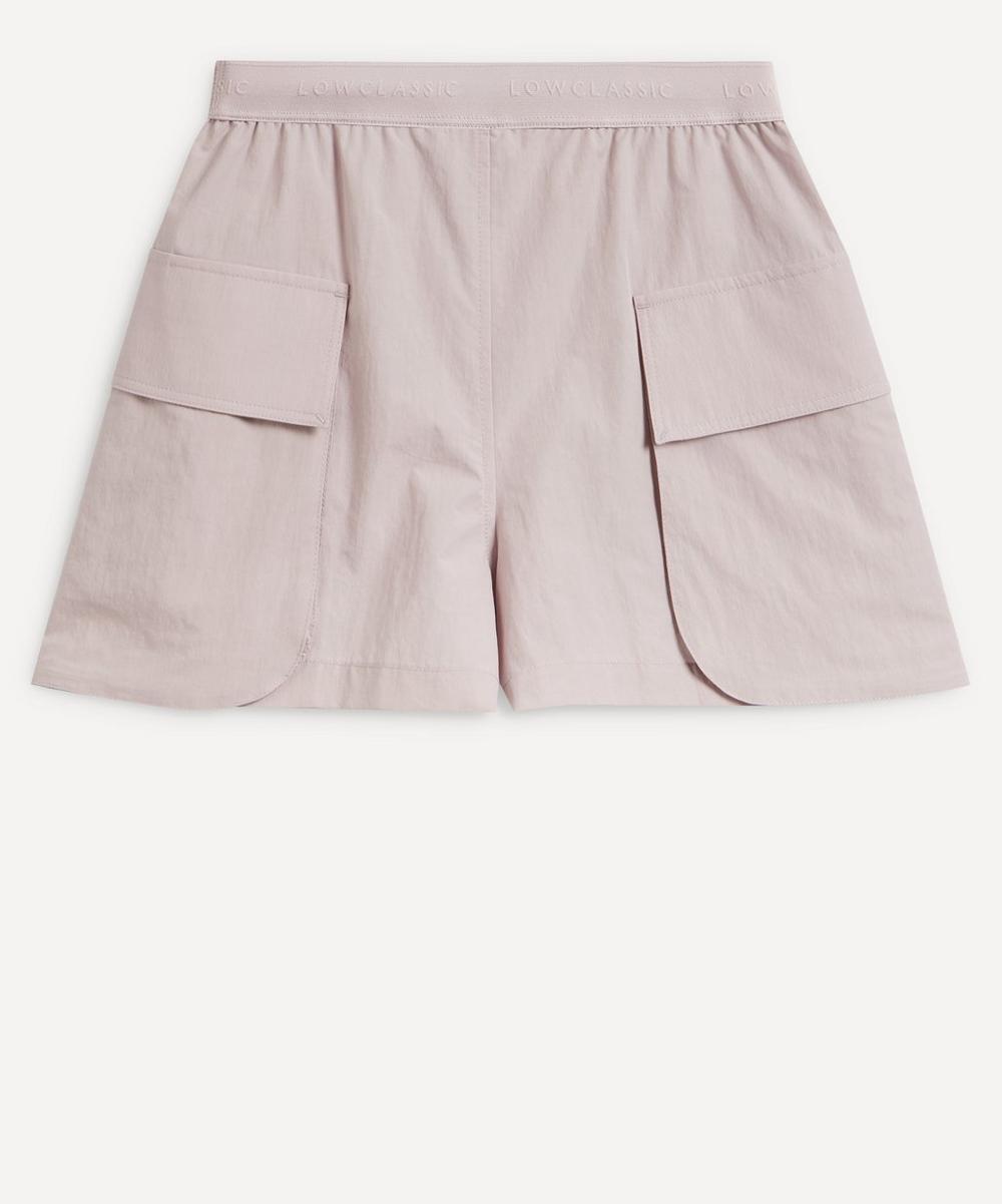 LOW CLASSIC - Logo Band Cargo Shorts
