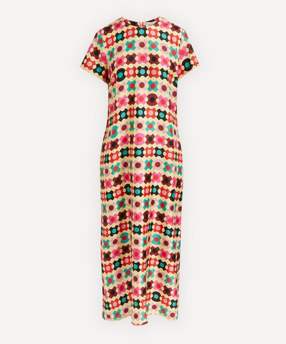 La DoubleJ - Silk Swing Maxi-Dress