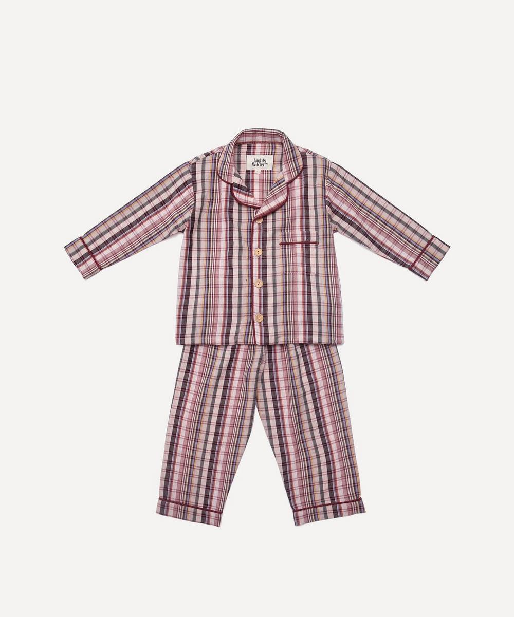 Nights by Wilder - Lennon Allsorts Check Pyjamas 2-8 Years