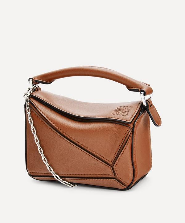 Loewe - Nano Puzzle Leather Shoulder Bag