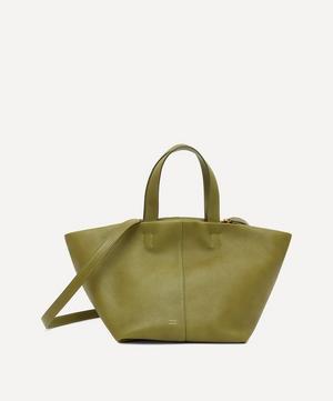 Tulipano Leather Shoulder Bag