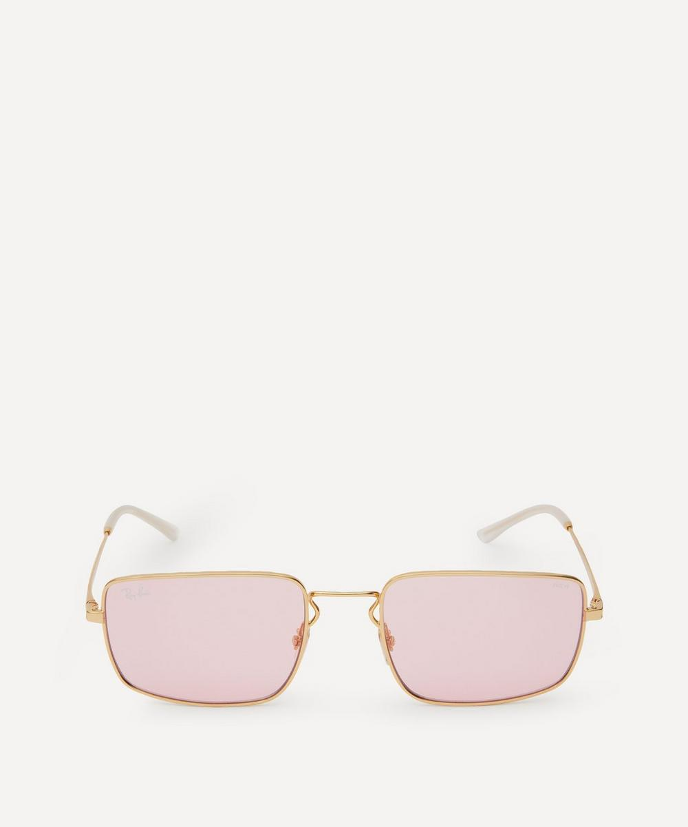 Ray-Ban - Slim Metal Sunglasses