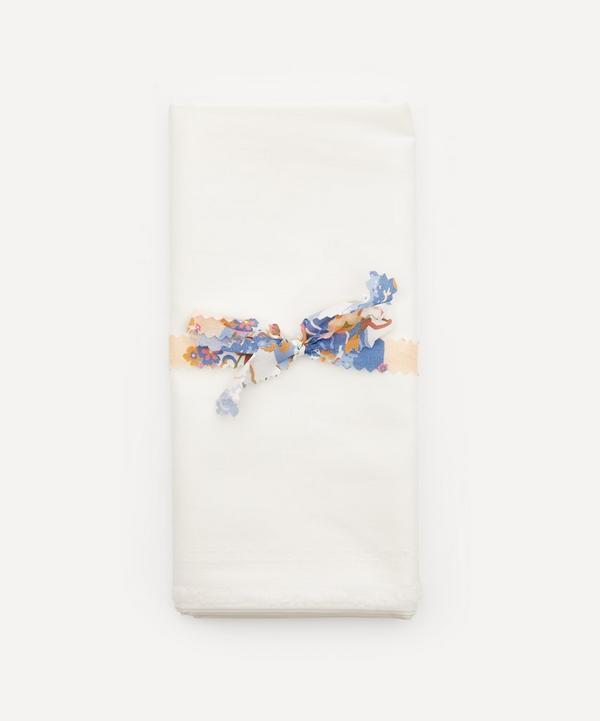 Liberty Fabrics - Half-Metre Pre-Cut Plain White Tana Lawn™ Cotton
