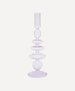 Gordo Glass Candlestick Holder