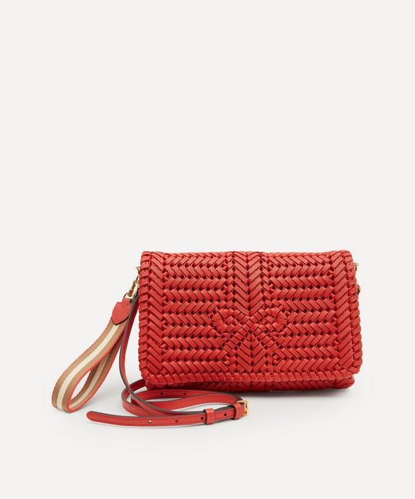 Anya Hindmarch - Neeson Woven Leather Cross-Body Bag