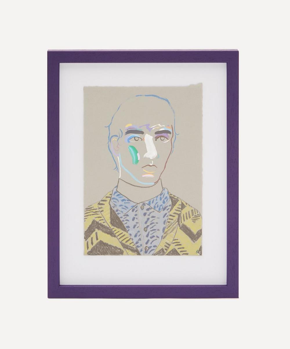Robson Stannard - Boy in Prada 3 Original Framed Painting