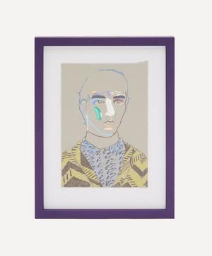 Boy in Prada 3 Original Framed Painting