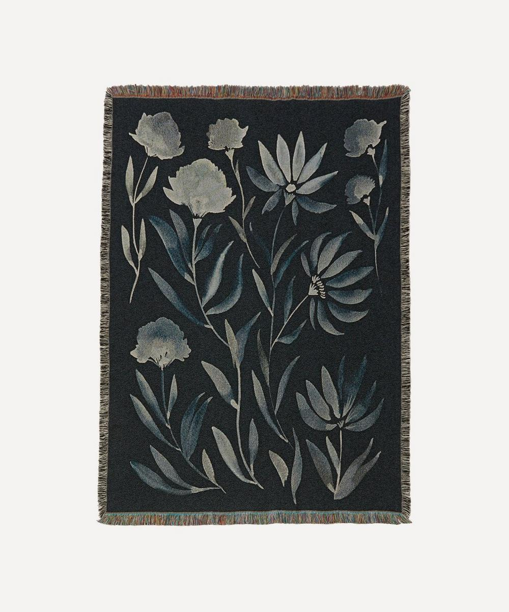 Rosanna Corfe - Bloom Mint Woven Throw image number 0