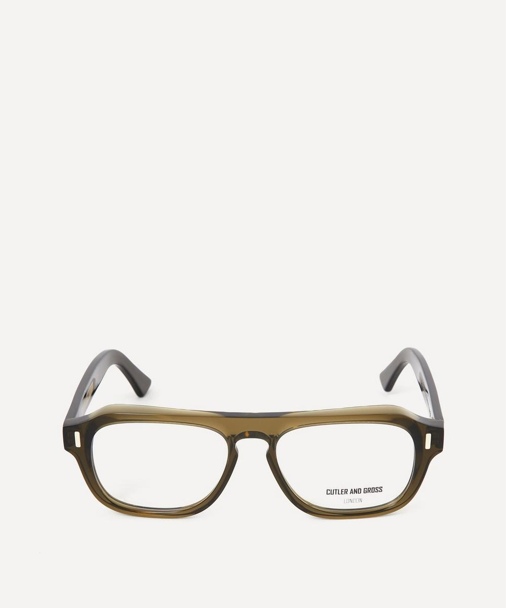 Cutler And Gross - 1319 Bold Flat-Top Optical Glasses