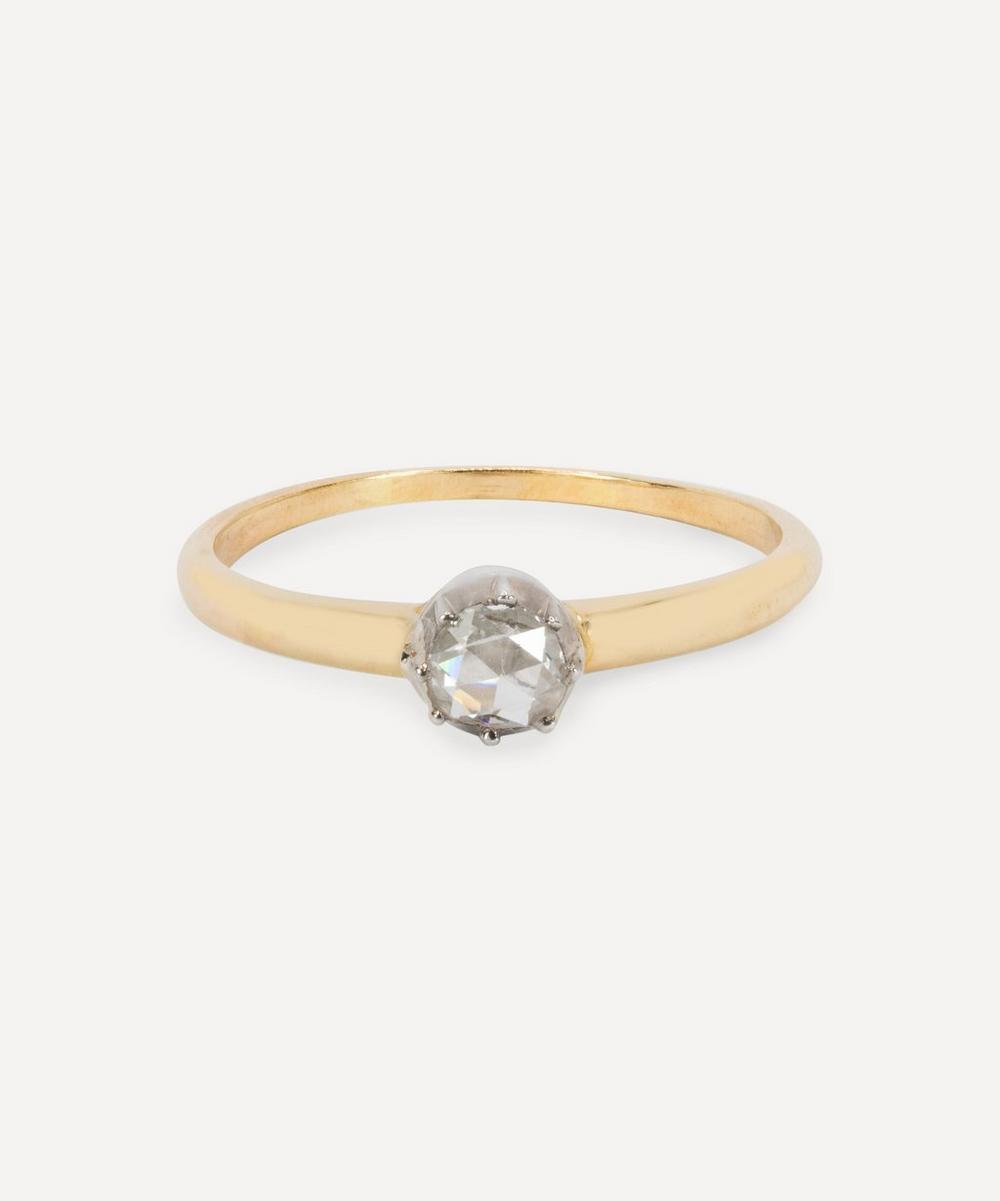 Kojis - Gold Antique Rose Cut Diamond Ring