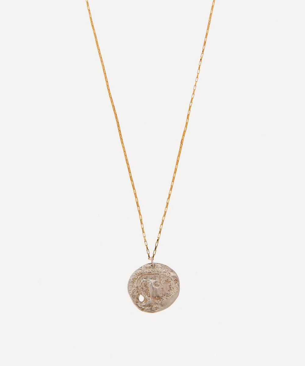 Alighieri - Sterling Silver The Other Side of the World Necklace