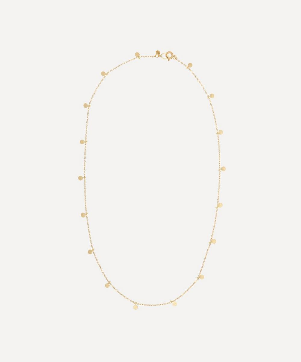 Sia Taylor - Gold Even Tiny Dots Necklace