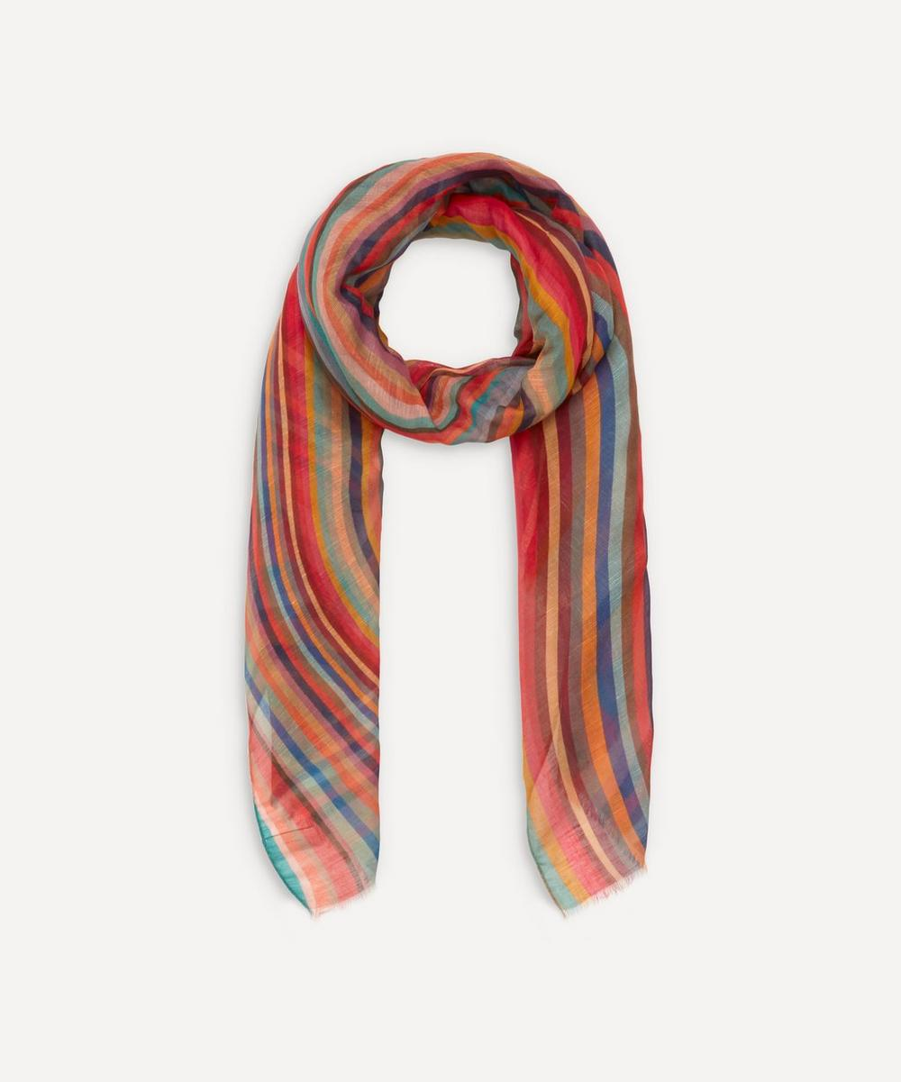 Paul Smith - Swirl Modal-Blend Scarf