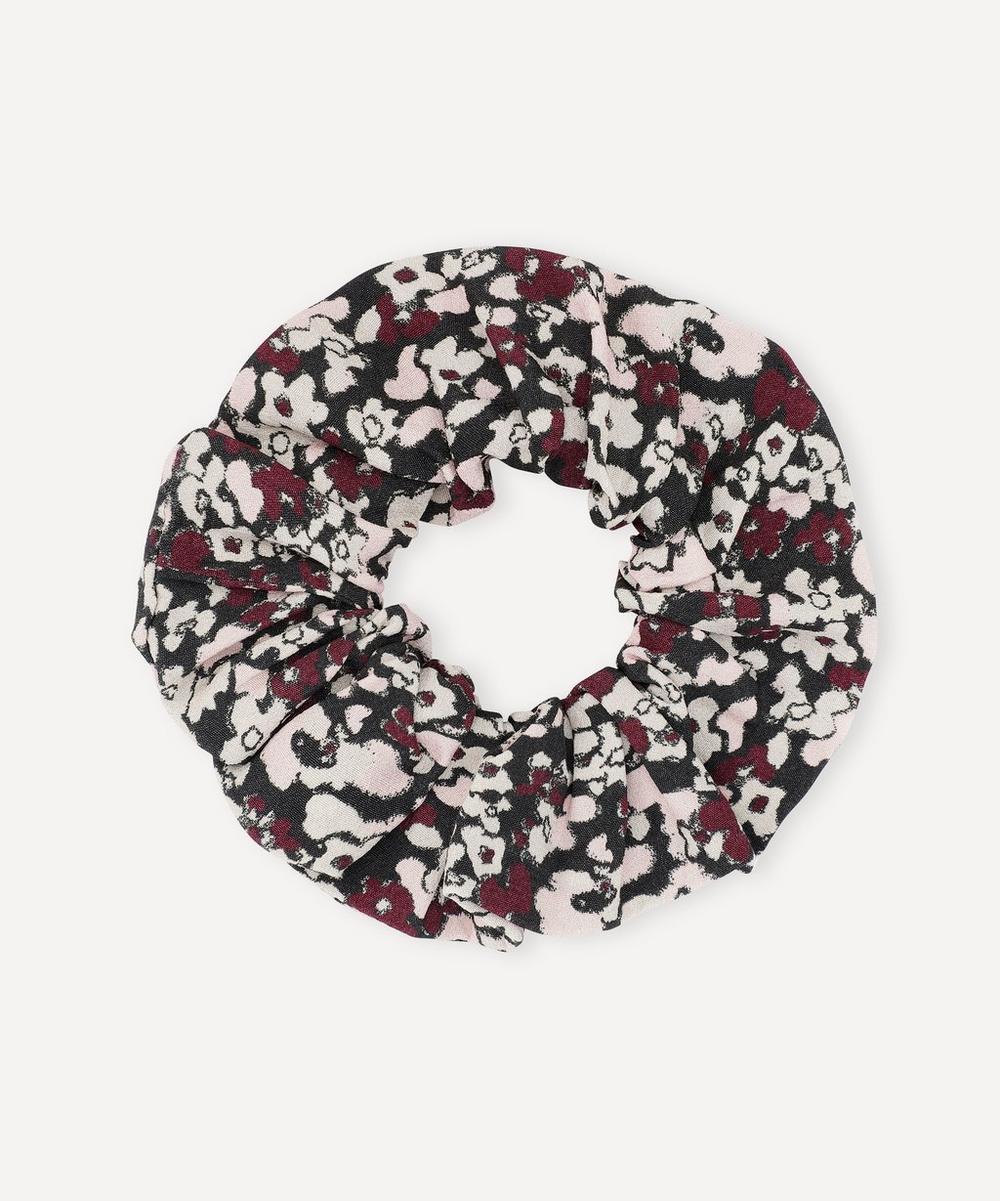 Ganni - Printed Crepe Scrunchie