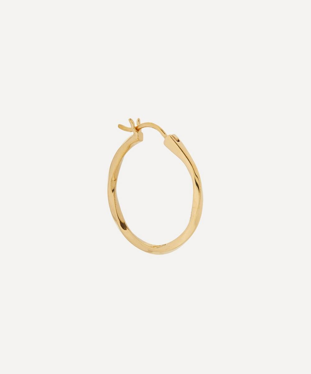 Maria Black - Gold-Plated Francisca 22 Hoop Earring