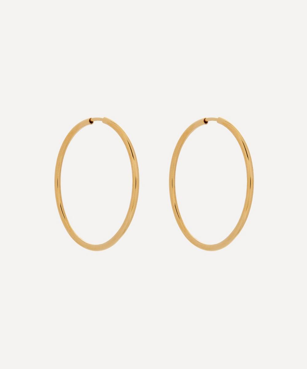 Maria Black - Gold-Plated Senorita 35 Hoop Earrings