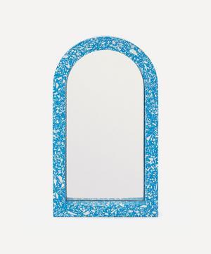 Cobalt Midi Arch Mirror