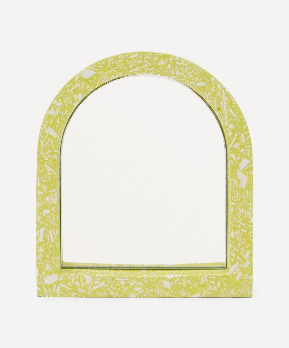 Katie Gillies - Lime Mini Arch Mirror