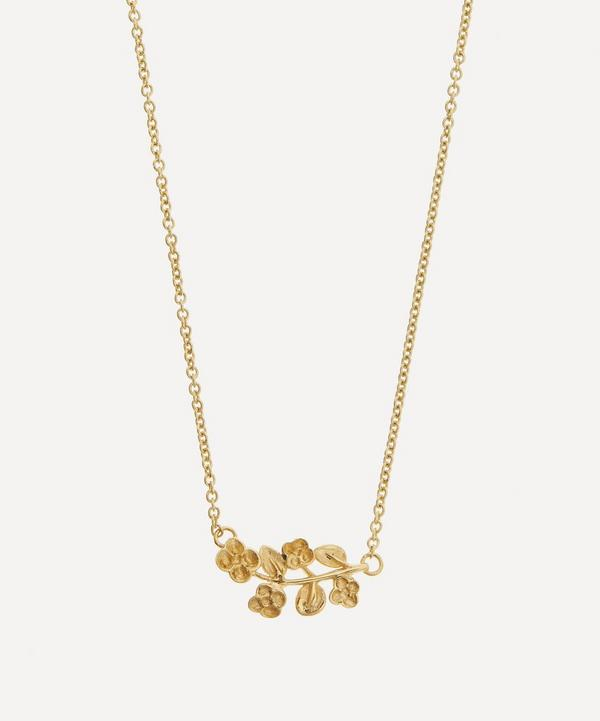 Liberty - 9ct Gold Blossom Pendant Necklace