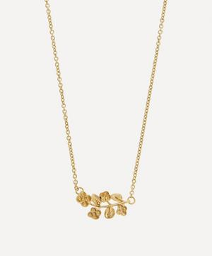 9ct Gold Blossom Pendant Necklace