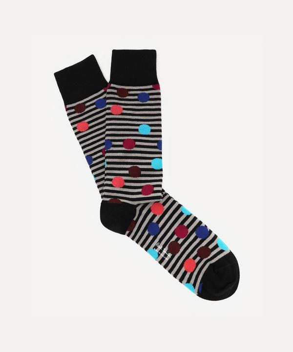 Paul Smith - Sonny Spot and Stripe Socks